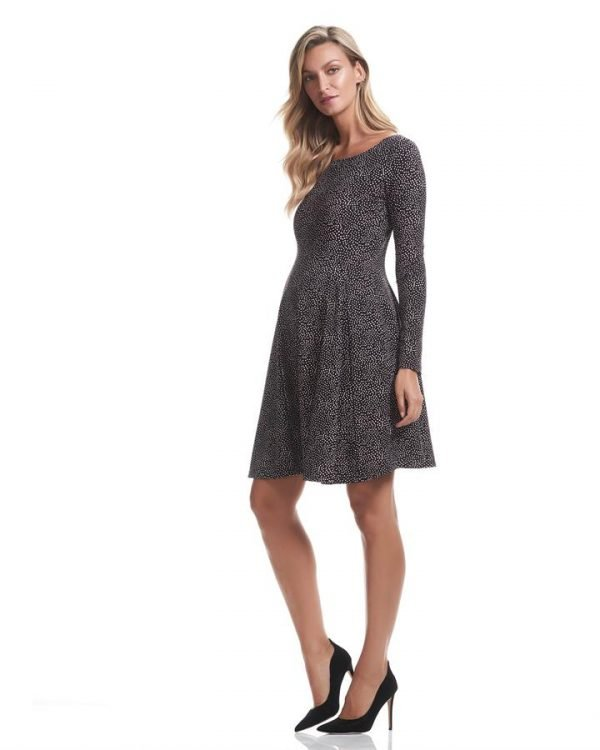 Willow Flare Maternity Dress