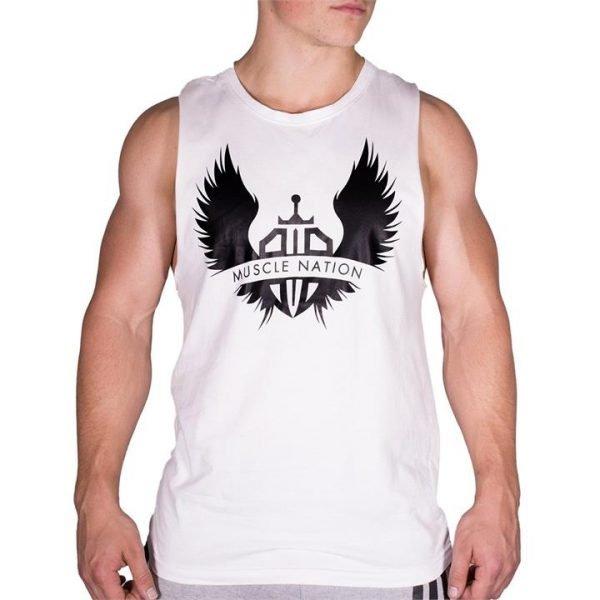 Wings Tank - White - XXL
