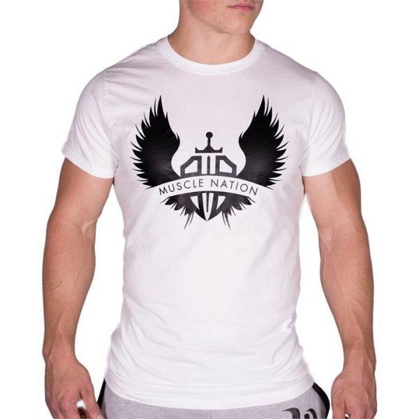 Wings Tshirt - White - XXL