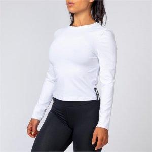 Womens Long Sleeve - White - XXL