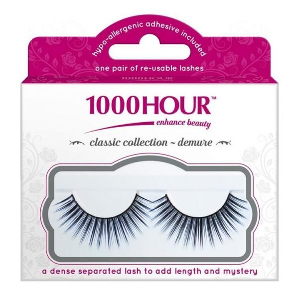 1000 Hour Classic Collection Lashes - Demure Black #512