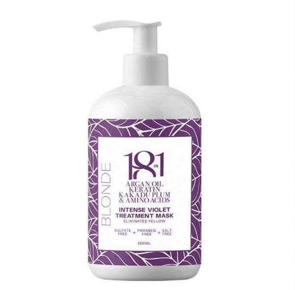 18 In 1 Blonde Intense Violet Treatment Mask 500ml