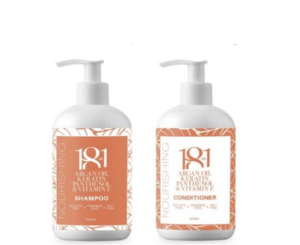 18 in 1 Nourishing Shampoo and Conditioner 500ml Duo Pack