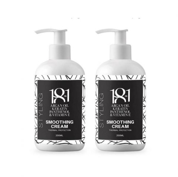 18 in 1 Styling Smoothing Cream 200ml x2 Duo Pack