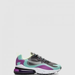 Air Max 270 React Gs G Gunsmoke/Silver/Aurora