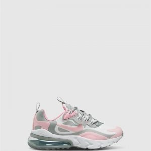 Air Max 270 React Gs G White/Pink/Grey