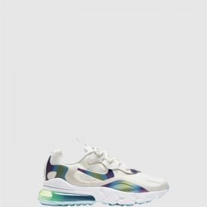 Air Max 270 React Gs G White/Platinum