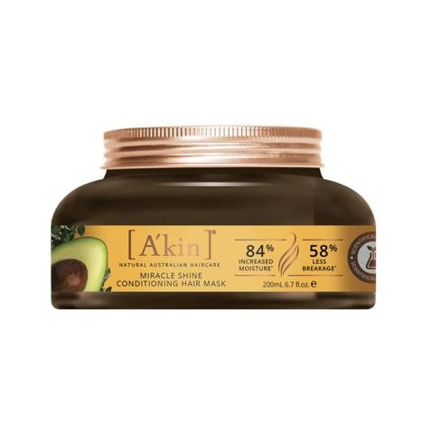 A'kin Miracle Shine Conditioning Hair Mask 200mL