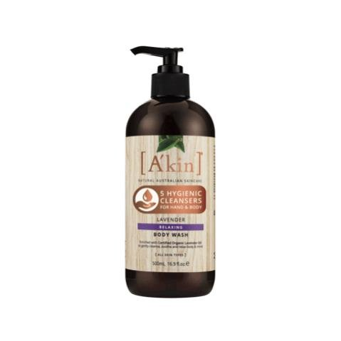 A'kin Relaxing Lavender Body Wash 500mL
