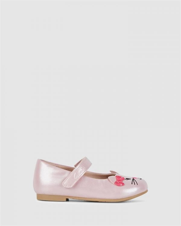 Alice Pale Pink Pearl/Pink Bow