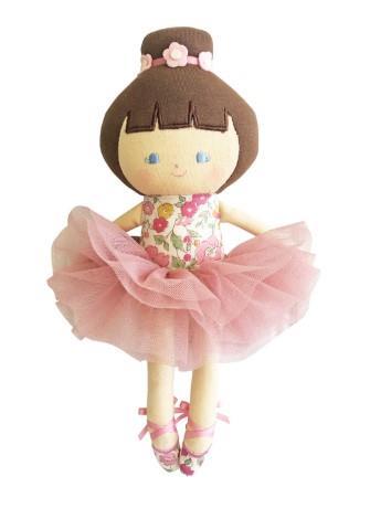 Alimrose Baby Ballerina Doll Rose Garden