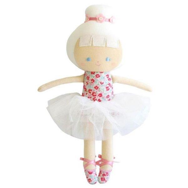 Alimrose Baby Ballerina Doll Sweet Floral