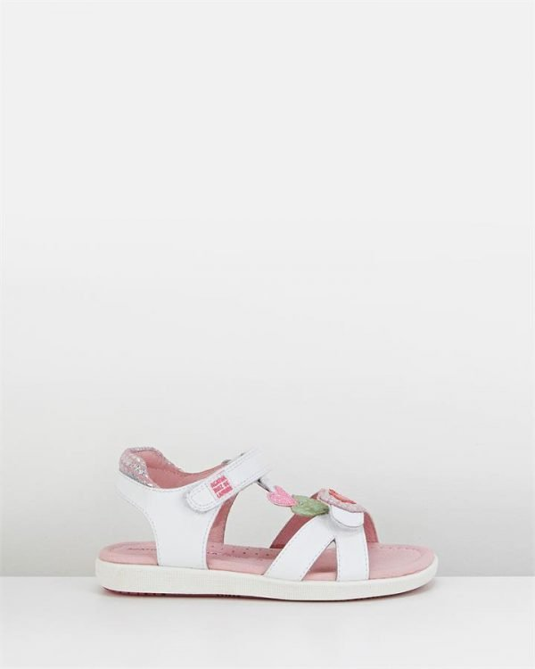 Arp Aitana Tbar 182939 Sandal White Multi