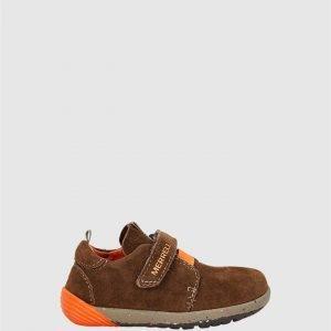 Bare Steps Sneaker B Brown Orange
