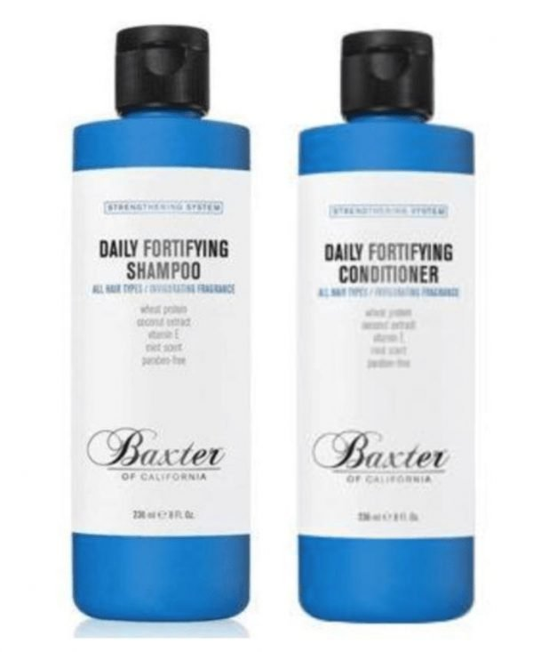 Baxter of California Daily Fortifying Shampoo and Conditioner 236ml Duo Pack