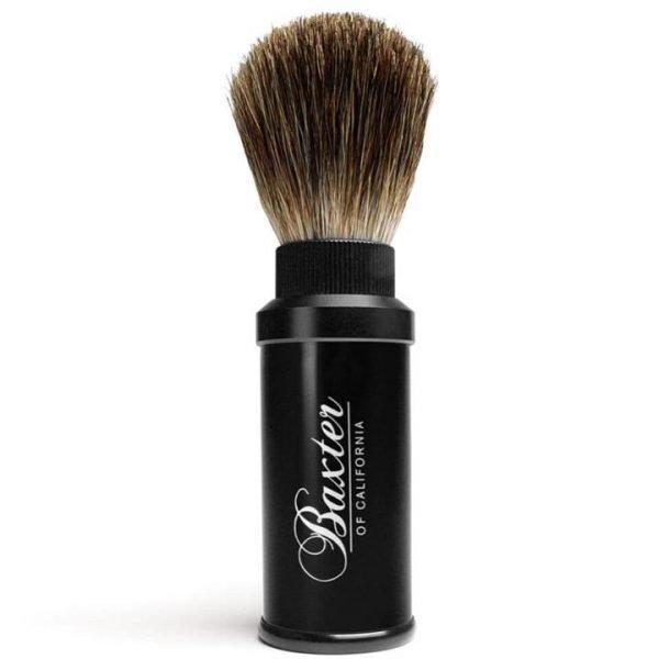 Baxter of California Pure Badger Travel Shaving Brush