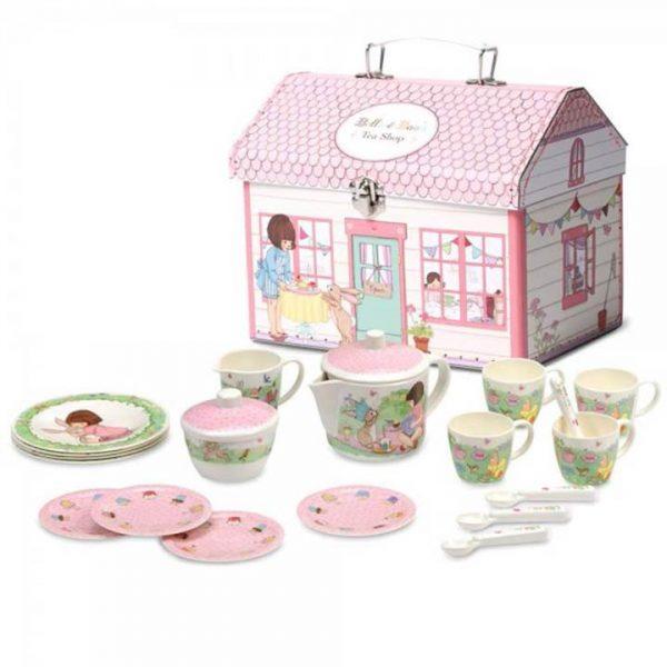 Belle and Boo House Box Tea Set