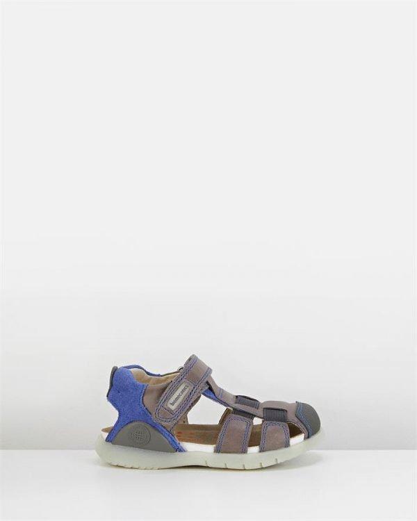 Bioevolution 182176 Sandal Charcoal/Blue