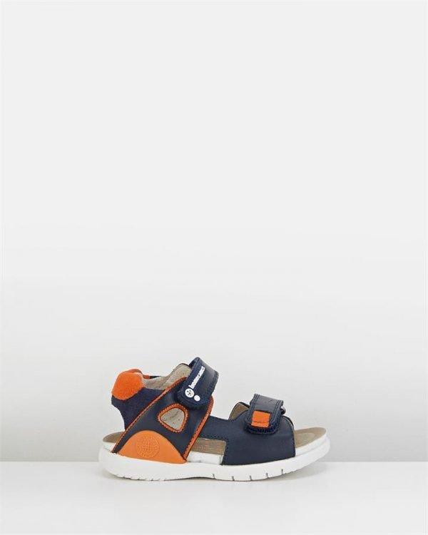Bioevolution 182180 Sandal Navy/Orange