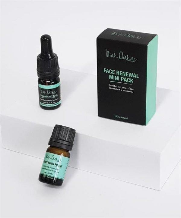 Black Chicken Remedies Face Renewal Mini Pack