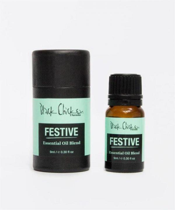 Black Chicken Remedies Festive Essential Oil Blend 9ml