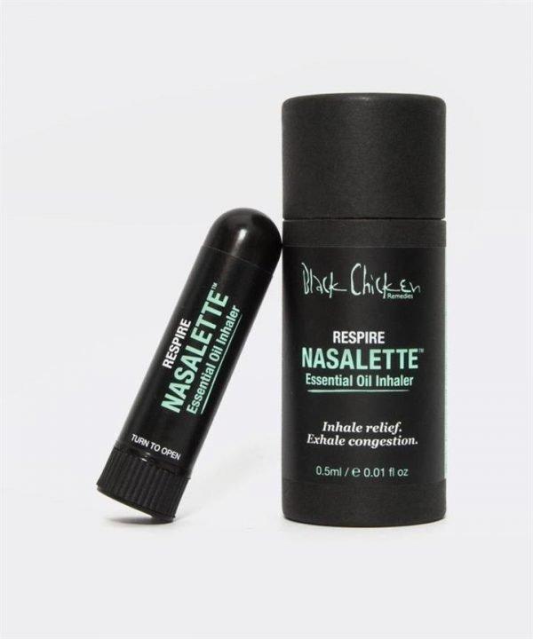 Black Chicken Remedies Nasalette Natural Essential Oil Inhaler - Respire