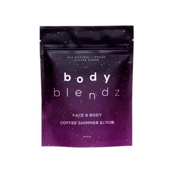 Body Blendz Coffee Shimmer Scrub 200g