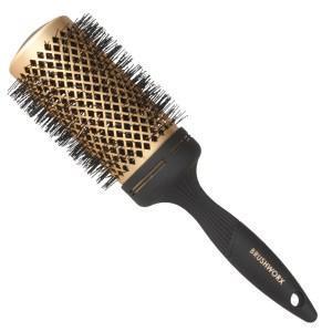 Brushworx Gold Ceramic Hot Tube Hair Brush Extra Large