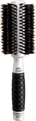 Brushworx Keratin Silk Medium Boar Brush 65mm