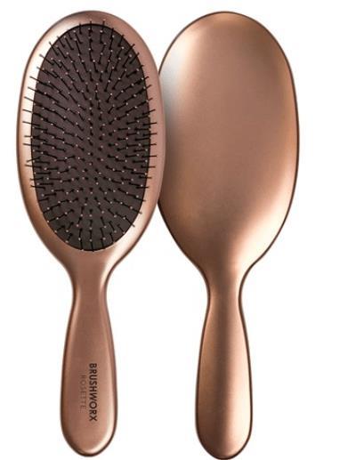 Brushworx Rosette Cushion Hair Brush - Large