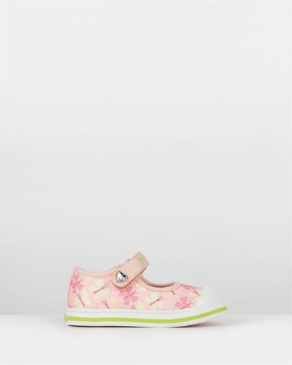 Butterfly Canvas Mj 947370 Inf Pink Green