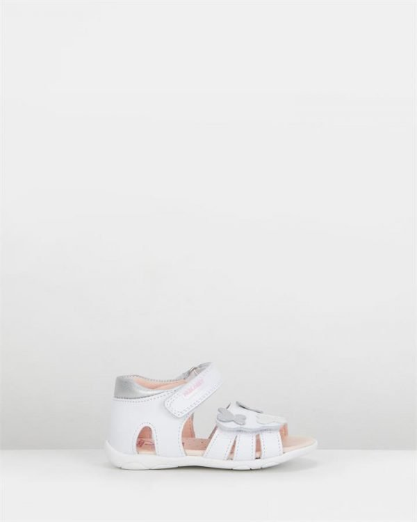 Butterfly Sandal G 026000 Inf White/Silver