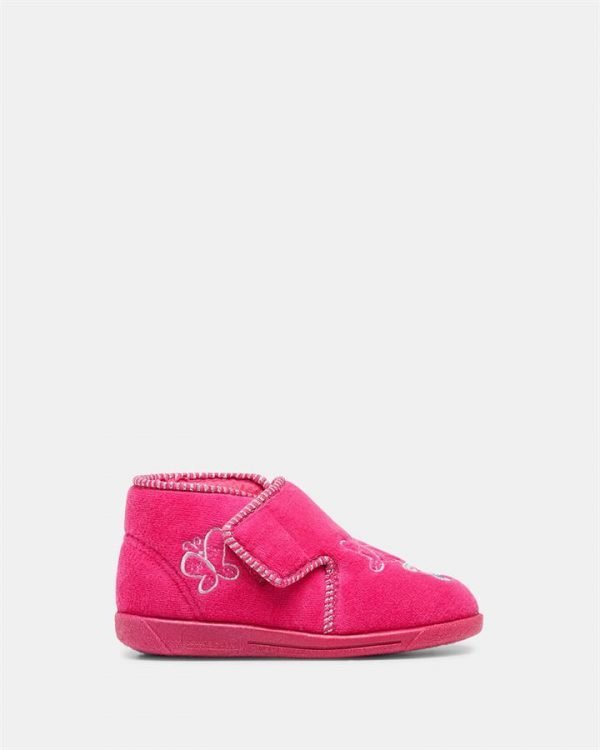 Butterfly Slipper Pink Multi