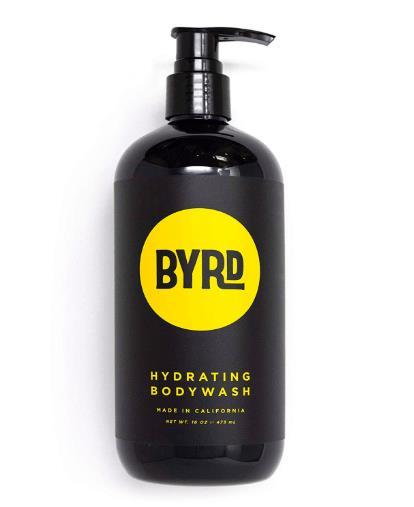 Byrd Hydrating Body Wash - Tropical Coconut 475ml