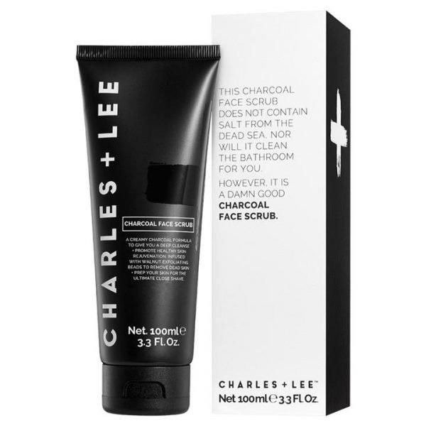 Charles + Lee Charcoal Face Scrub 100ml
