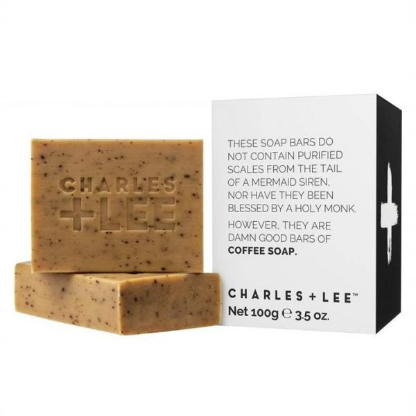Charles + Lee Coffee Soap Duo 200g