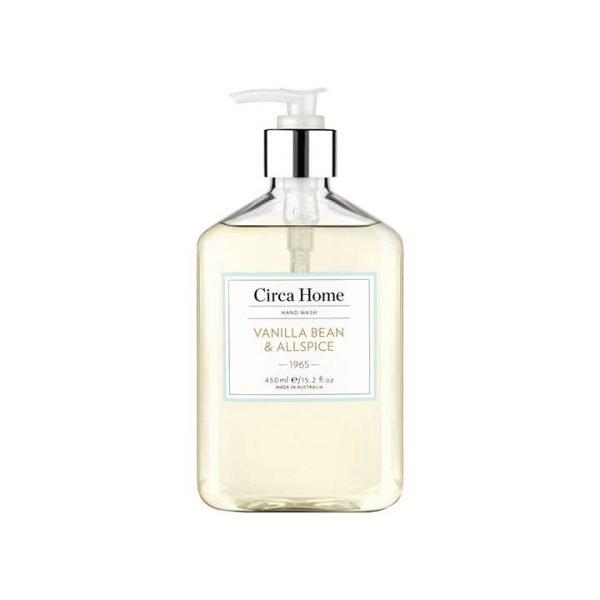 Circa Home Vanilla Bean & All Spice Hand Wash 450ml