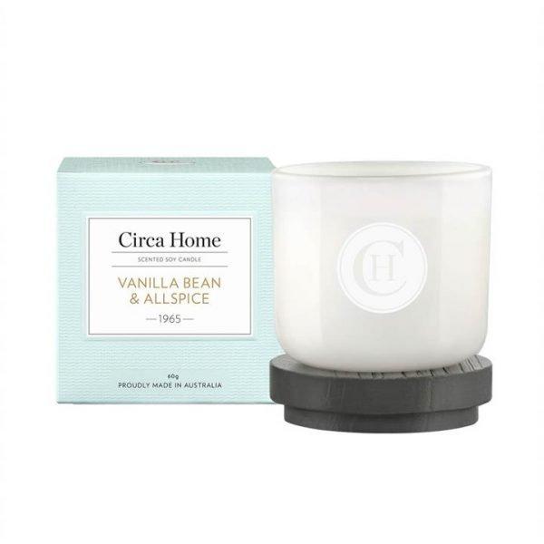 Circa Home Vanilla Bean & All Spice Mini Candle 60g