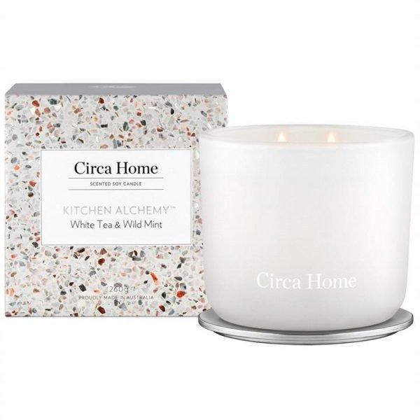 Circa Home White Tea & Wild Mint Candle 260g