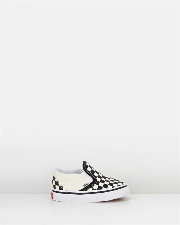 Classic Slip On Inf B Black/White