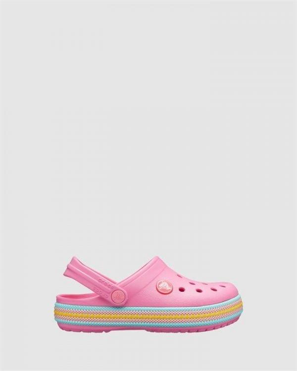 Crocband Sport Cord Clog G Pink Lemonade