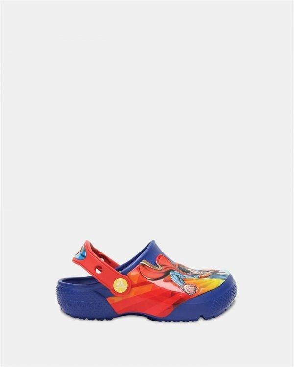 Crocsfunlab Superman Clog Bl Blue Jean