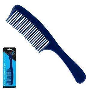 Dateline Professional Blue Celcon 3832 Detangling Basin Comb - 20cm