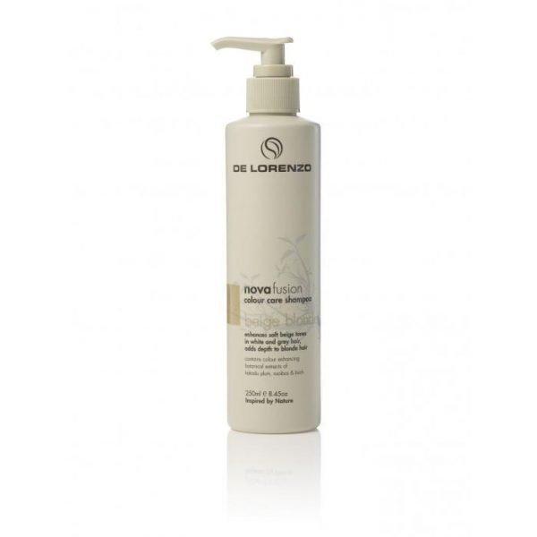 De Lorenzo Novafusion Colour Care Shampoo Beige Blonde 250ml