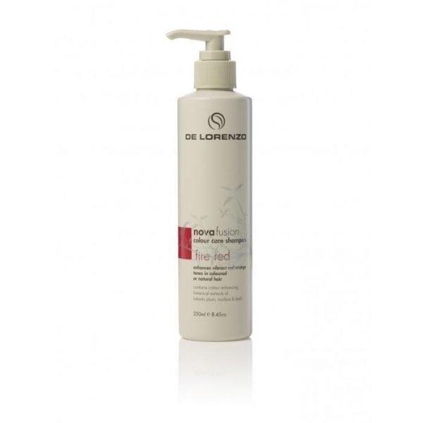 De Lorenzo Novafusion Colour Care Shampoo Fire Red 250ml