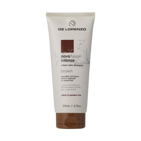 De Lorenzo Novafusion Colour Care Shampoo Intense Brunette 200ml
