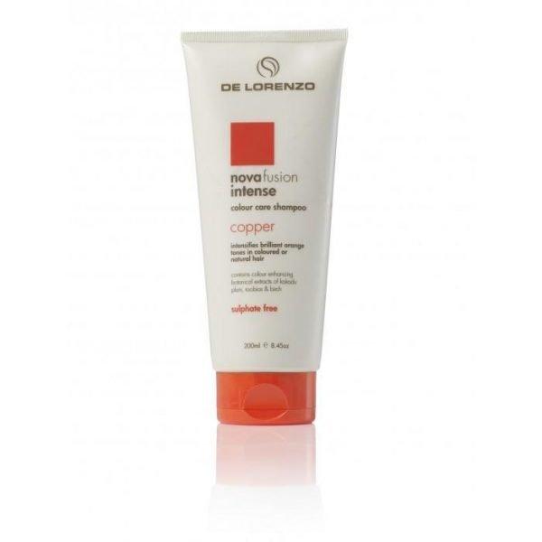 De Lorenzo Novafusion Colour Care Shampoo Intense Copper 200ml