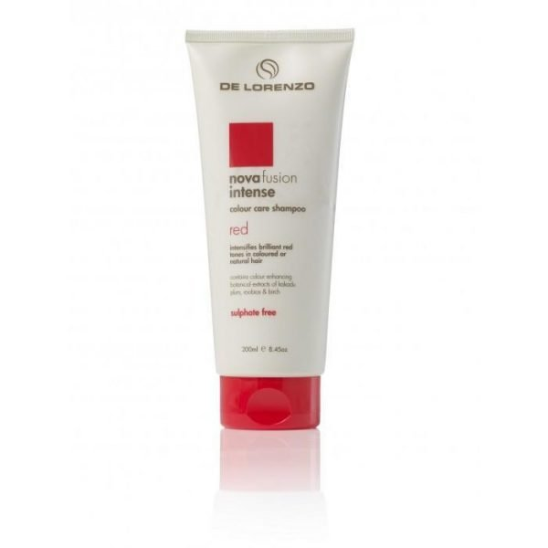 De Lorenzo Novafusion Colour Care Shampoo Intense Red 200ml