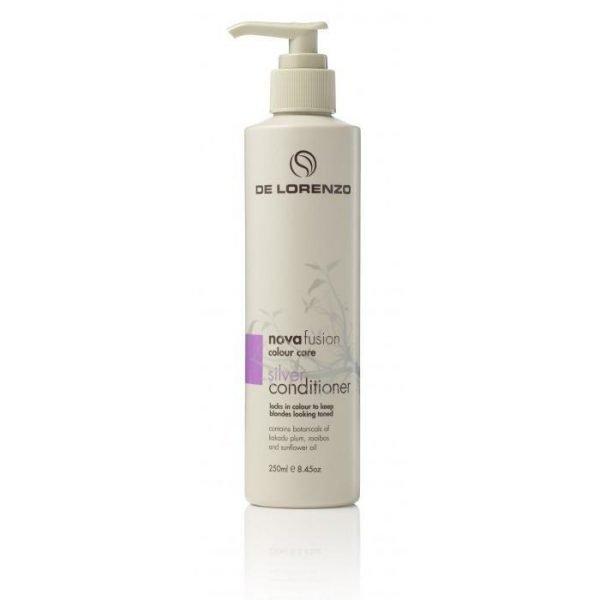De Lorenzo Novafusion Colour Care Silver Conditioner 250ml