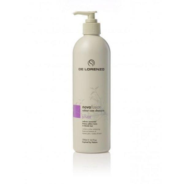 De Lorenzo Silver Shampoo - Novafusion Colour Care 500ml